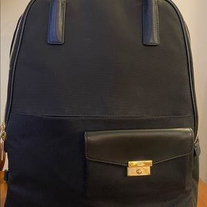 Tumi Convertible Backpack - black nylon